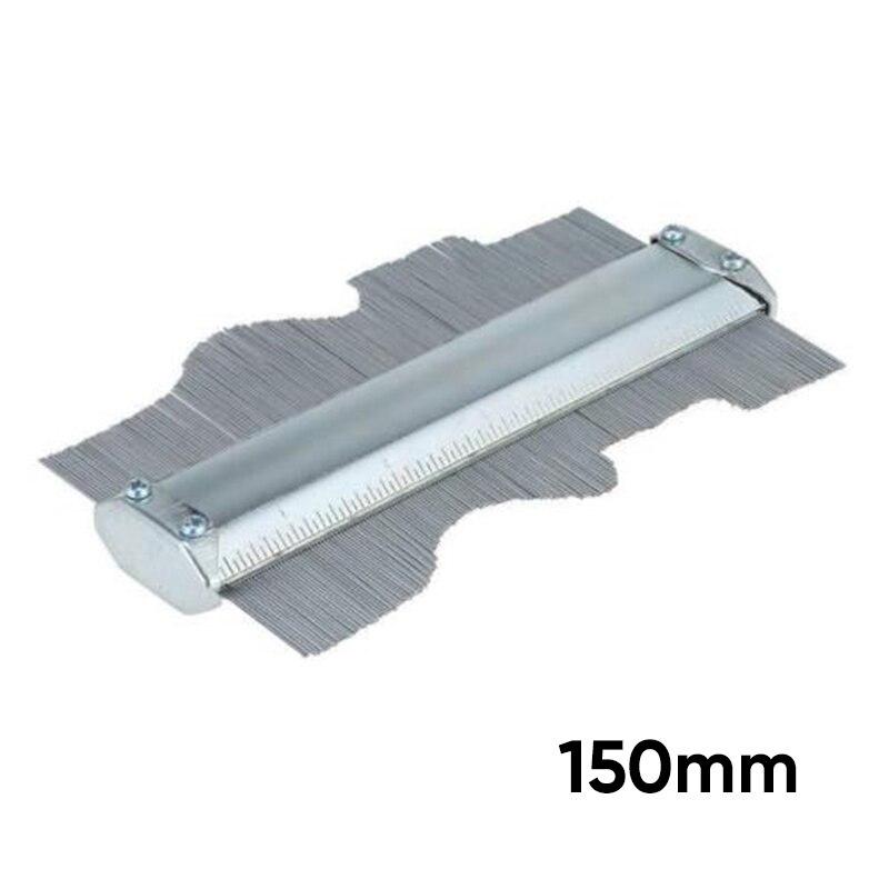 1PC Fun Ruled Contour Duplication Gauge Stainless Steel Irregular Tiling Lamina~1PC Fun Ruled Contour Duplication Gauge Stainless Steel Irregular Tiling Lamina~
