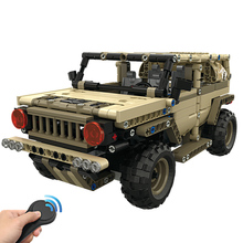 538 pcs 2.4G RC robot car DIY Assemble Bricks wireless Remote control Technology Build Modular Smart military Boys Toys
