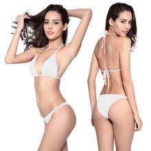 Sexy Bikini Praia Maio Biquini 2016 Beachwear Elastic Swim Set Two-Piece  Swimsuit Sweet Bathing 51d92debe309