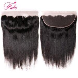 Image 5 - FABC бразильские кружевные фронтальные прямые волосы 13x4 свободная часть от уха до уха 130% плотность Remy волосы Бесплатная доставка 22 дюйма