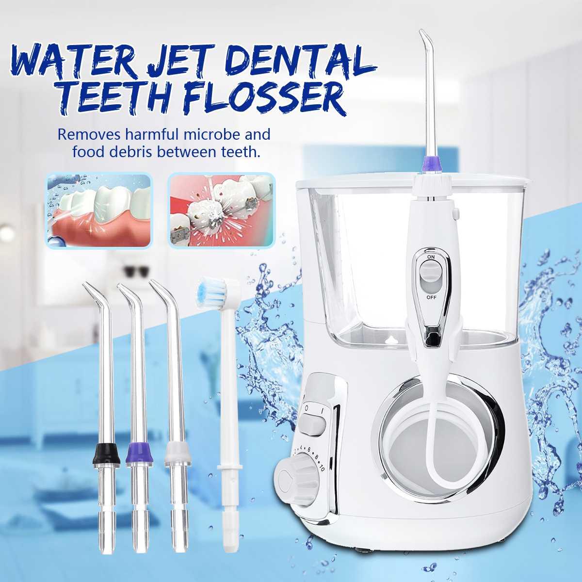 600 ML UV jet d'eau Dentaire brosse à dents électrique jet dentaire irrigateur buccal Dentaire Spa Unité Professionnel Floss Oral Irrigateur