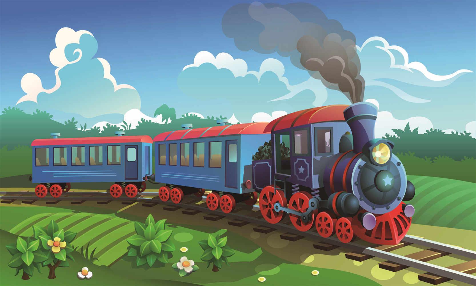 Автомобили поезда картинки для детей