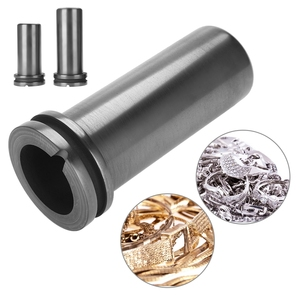 Image 2 - 1kg/2kg/3kg High Pure Graphite Crucible Cup Metal Gold Silver Scrap Melting Furnace Casting Mould Jeweler Jewelry Melting Tool