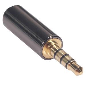 LIGA de 3.5 Milímetros masculino Para FEMININO m/F Áudio Estéreo PLUG ctia PARA Omtp Adaptador De fone de ouvido