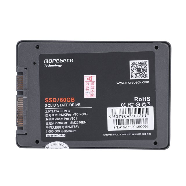 Morebeck Ssd 2 5 Inch Sata3 Aluminum Shell Internal Solid State Drive For Pc Laptop