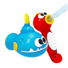 Baby Shower Sea Horse Bath Toys for Children Kids Bathtub Spray Water Pump Tool автозапчасть sea horse m3