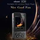 XDuoo X3II AK4490 bluetooth 4,0 Портативный HD Lossless музыкальный плеер DSD128 USB DAC & OTG Max 256 г OPA1652