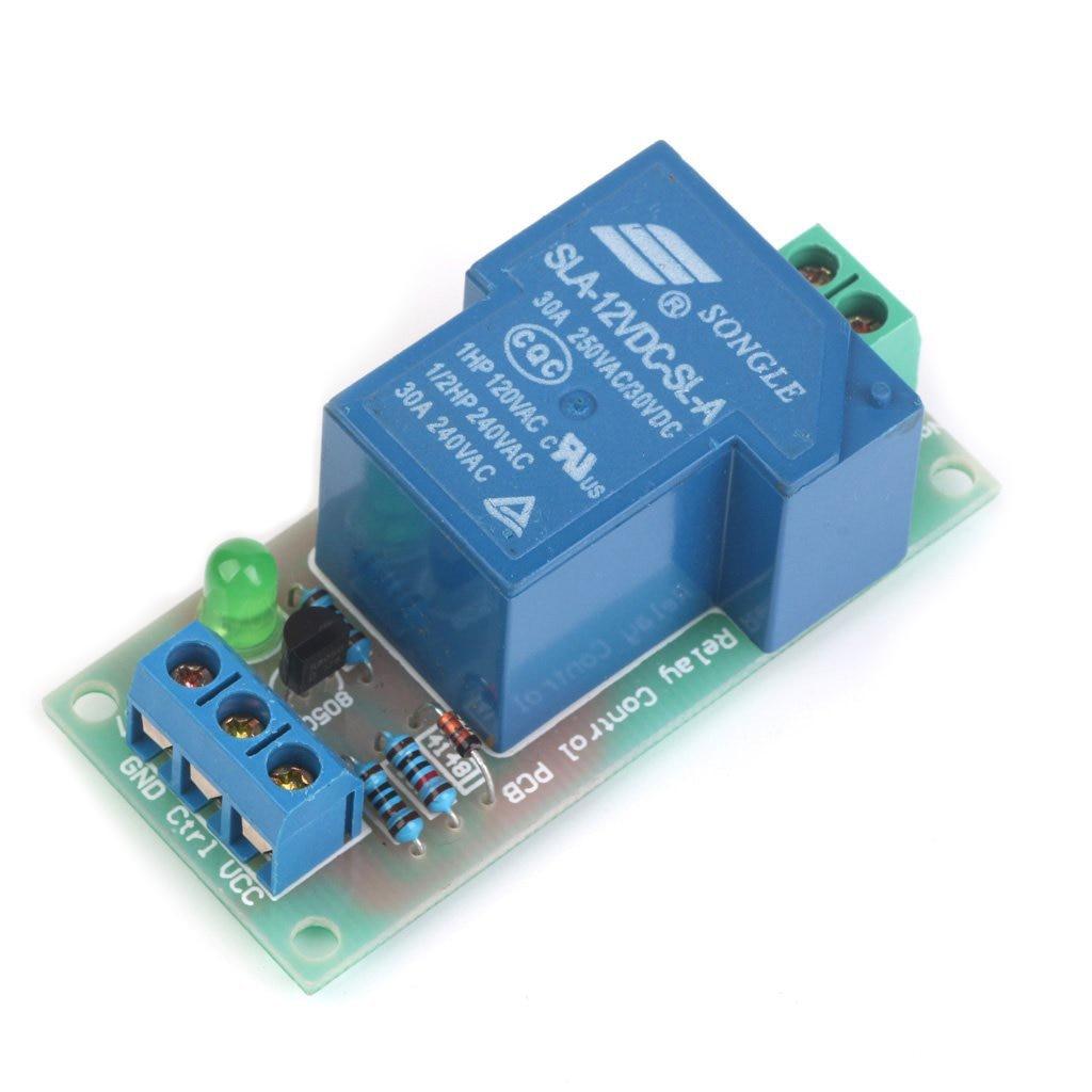 Earphones & Headphones Creative Full-5-12v 30a High Power Input Relay Module Optocoupler Isolation