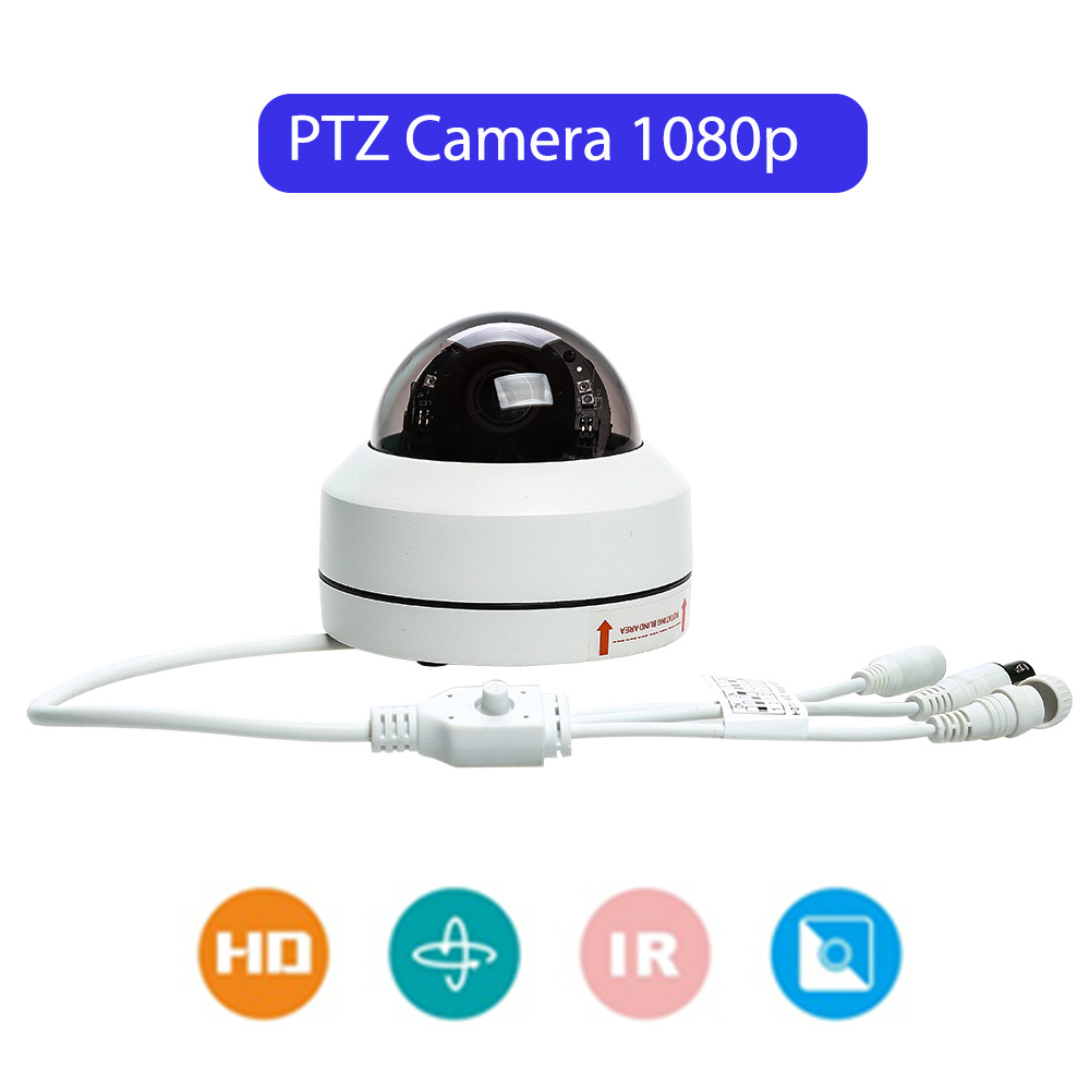Vandal-proof IP66 Outdoor PTZ Security Camera 3x Optical Zoom Night Vision Home Surveillance Camera 254 Presets PositionVandal-proof IP66 Outdoor PTZ Security Camera 3x Optical Zoom Night Vision Home Surveillance Camera 254 Presets Position