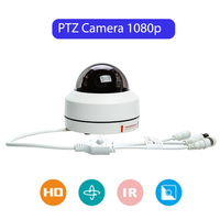 Vandal proof IP66 Outdoor PTZ Security Camera 3x Optical Zoom Night Vision Home Surveillance Camera 254 Presets Position