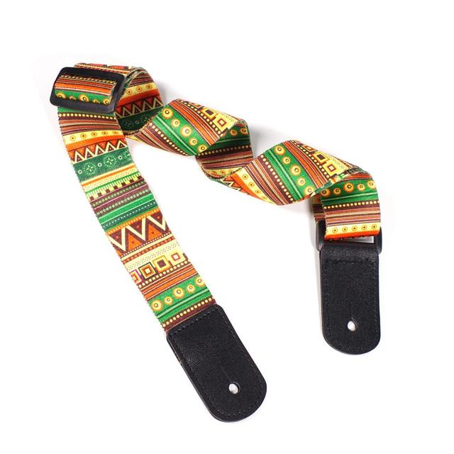 Adjustable National Style Ukulele Strap