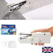1 шт. новая Мини Портативная бытовая ручная швейная машина для семьи
