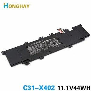HONGHAY 11,1 V 44WH новый оригинальный C31-X402 Аккумулятор для ноутбука ASUS VivoBook S300 S400 S400C S400CA S400E X402C C21-X402 F402C