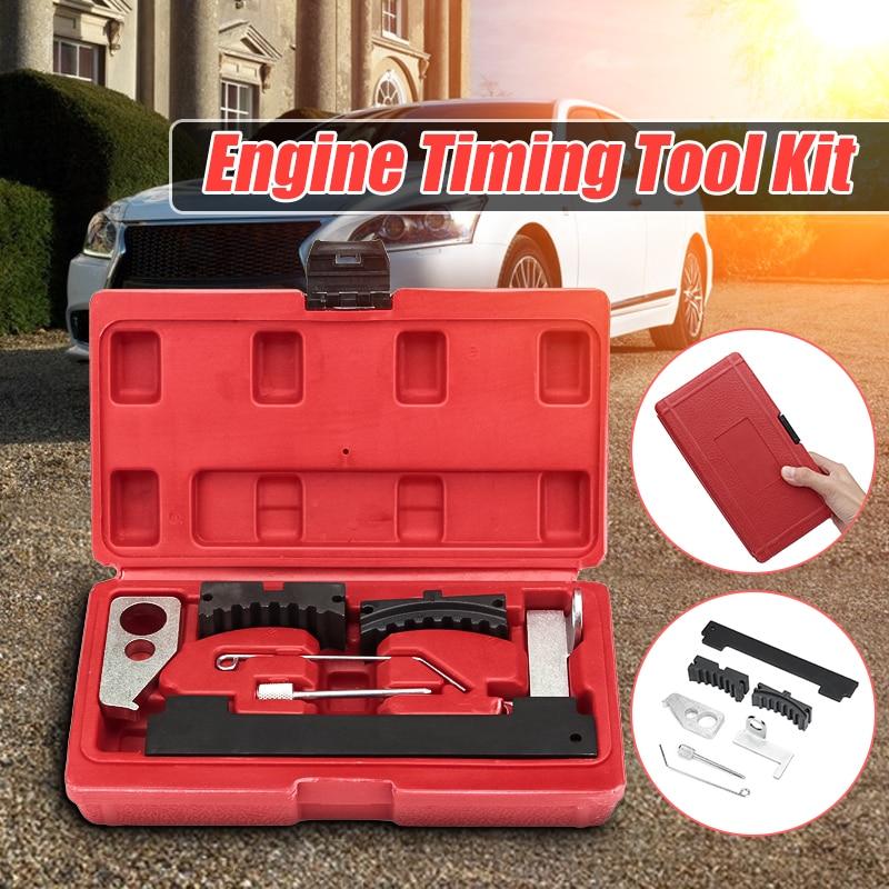 Kit de ferramentas sincronismo do motor carro para fiat para cruze para vauxhall opel ferramentas reparo do cuidado do motor automóvel com caixa 1.6 1.8 16 v