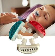 Silicone Anti Snore Device Nasal Dilators Apnea Sleep Aid Stop Snoring Stopper Nose Clip Anti-snore Clean Air Purifier