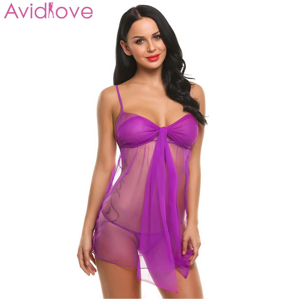 Avidlove Women Sexy Lingerie Hot Erotic Dress Summer Female Sexy Costumes Sexy Underwear Babydolls Lady Erotic Lingerie