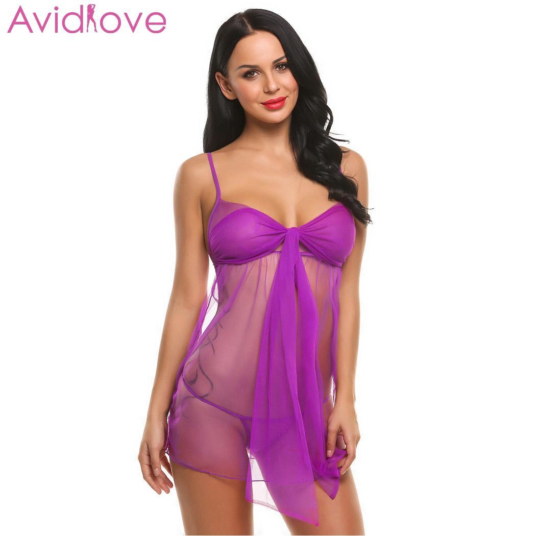 Avidlove Women Sexy Lingerie Hot Erotic Dress Summer Female Sexy Costumes Sexy Underwear Babydolls Lady Erotic Lingerie