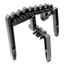 Golf 9 Iron Club ABS Shafts Holder Stacker Fits Any Size Golf Accessories Club Heads Black of Bags Organizer Golf Holder New(China)