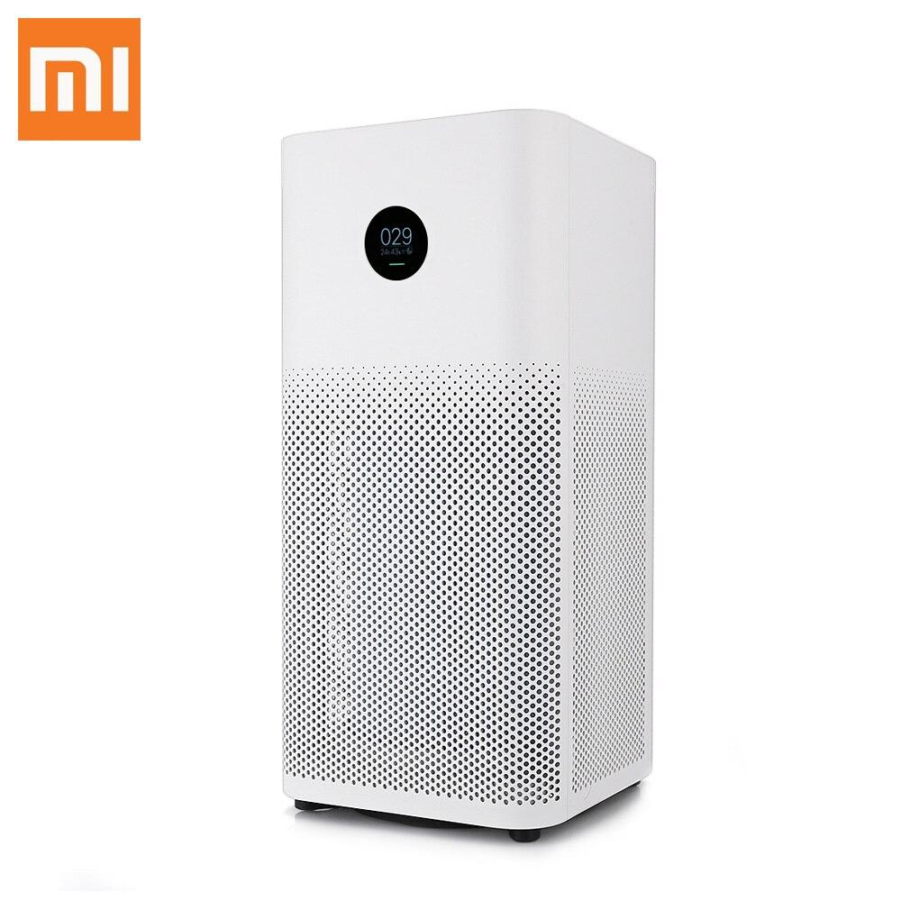 Оригинальный Xiaomi Mi Воздухоочистители 2 S OLED Дисплей смартфон приложение Управление дыма пыли специфический запах Cleaner 3-многослойное Hepa филь...