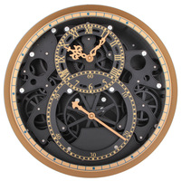 Creative Quartz Wall Clock Perspective Mechanical Gear Watches Large Retro Clock Wall Clocks Modern Design Home Decor
