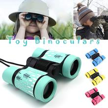 4x30mm Kids Binoculars Adjustable Toy Binoculars Bird Watching Traveling Hiking Accessories Outdoor Play Toy Children Binoculars