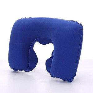Image 2 - Функциональная надувная подушка для шеи, надувная u образная подушка для путешествий, Автомобильная подушка для шеи, надувная подушка для отдыха, подушка для путешествий