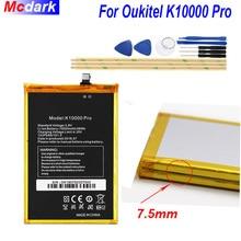 Mcdark 10000mah bateria para oukitel k10000 pro batterie bateria acumulador akku accupil celular + ferramentas