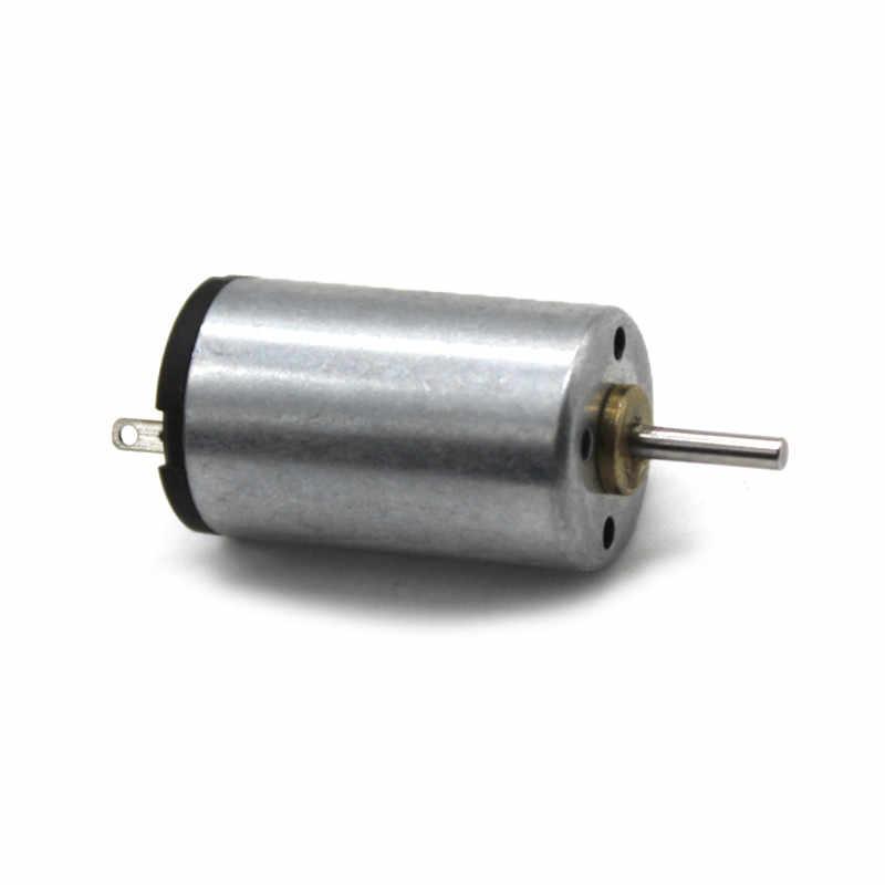 1220 Mini Motor de CC 3V 9500RPM Motor de alta velocidad para coches de juguete DIY a Control remoto