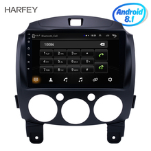 Harfey Android 8 1 9 Car font b Radio b font For MAZDA 2 Jinxiang DE