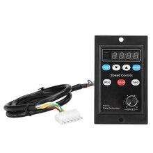 Ux 52 Digitale Display Motor Speed Controller Motor Gouverneur Soft Start Gereedschap 220V Ac 6W 400W