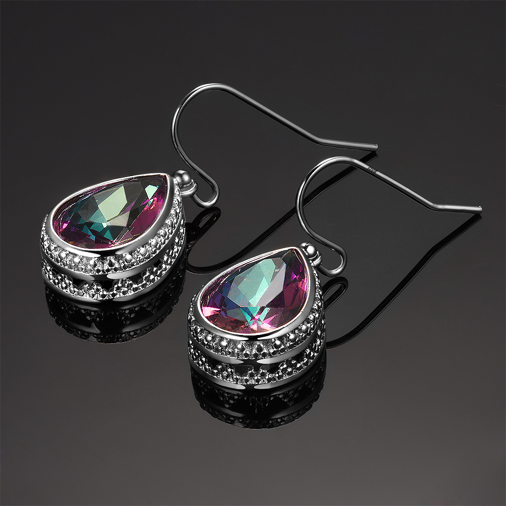 64eea727f6268 100% Genuine 925 Silver Earrings Ring Jewelry Sets Top Quality ...