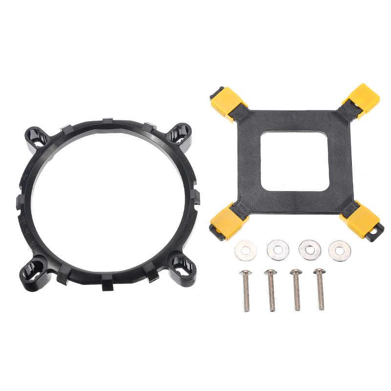 Cpu ventiladores de refrigeração titular do dissipador de calor cpu suporte do refrigerador parafuso pc desktop placa-mãe montagem componente ventilador para intel 1150 1155 1366