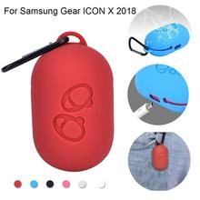 Wireless Bluetooth Earphone Bag For Samsung Gear Icon X 2018 Silicone Storage Case Protective Skin Waterproof 5 Colors