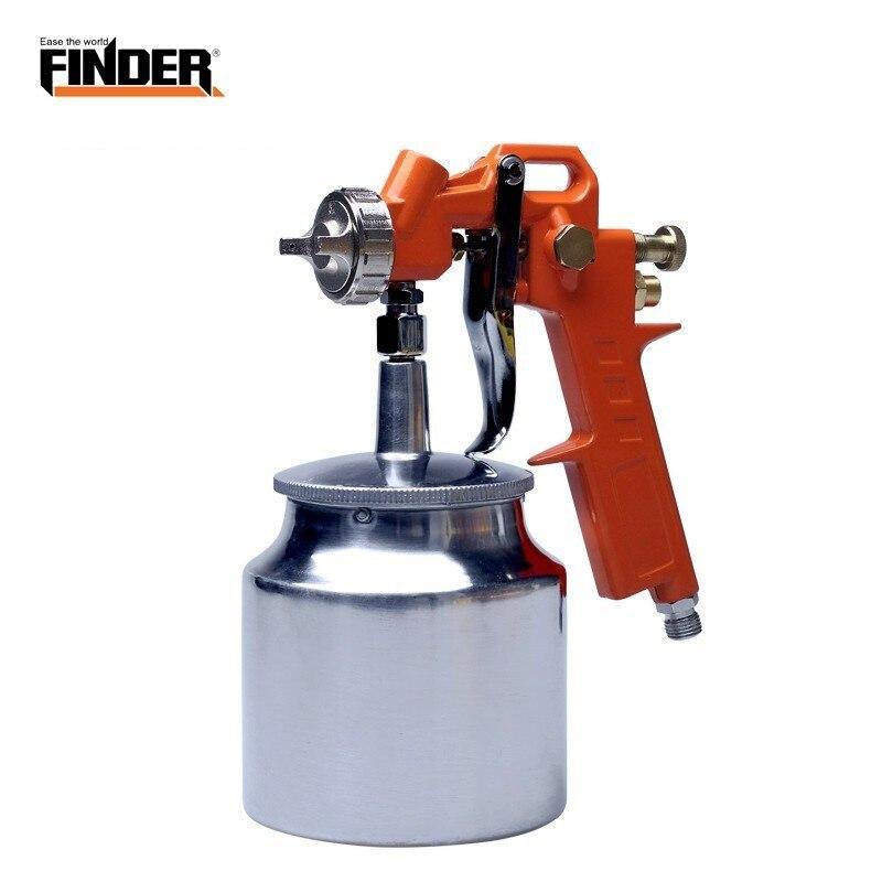 FINDER Highly Atomized 750ML Pneumatic Spray Paint Sandblast Gun Metal Varnish Furniture Wooden Furniture Automobile Air Tools
