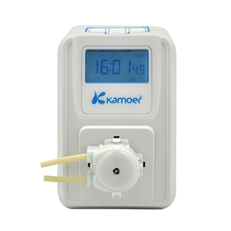 Kamoer KSP F01A 금액 조정 가능한 연동 펌프 lcd 금액 조정 가능한 고정밀 소형 연동 펌프 액체 pum-에서워터 펌프들부터 홈 & 가든 의  그룹 1