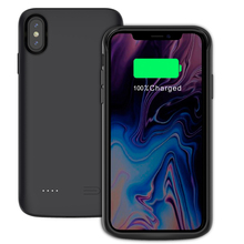 6000mAh Power Bank Battery Charger Case For iPhone Xs Max/Xr Case External Backup Charger Power Bank Case For iPhone Xr/Xs Max