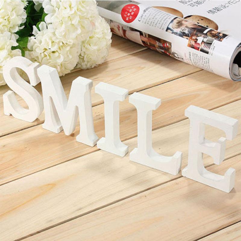 DIY Home Decor Wooden Letters Alphabet Word Bridal Wedding Party Home Decor  Nautical Decor Supplies Ornaments Wholesale#0118