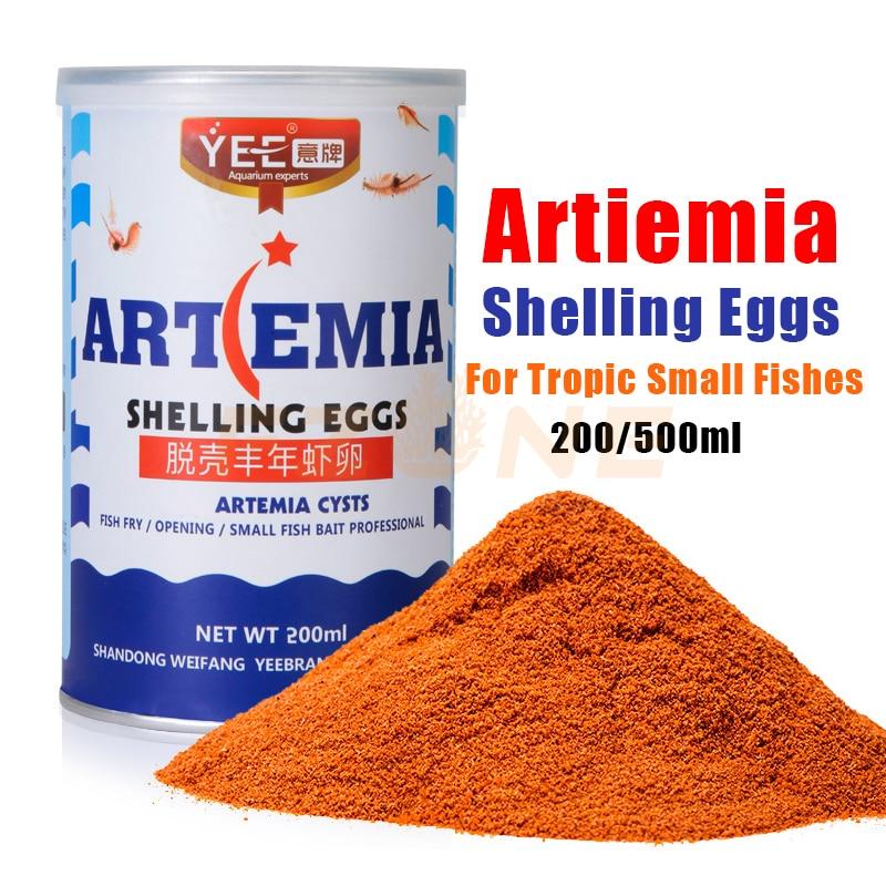 Aquarium Tropic Fish Food Artemia Shelling Eggs For Small Fishes