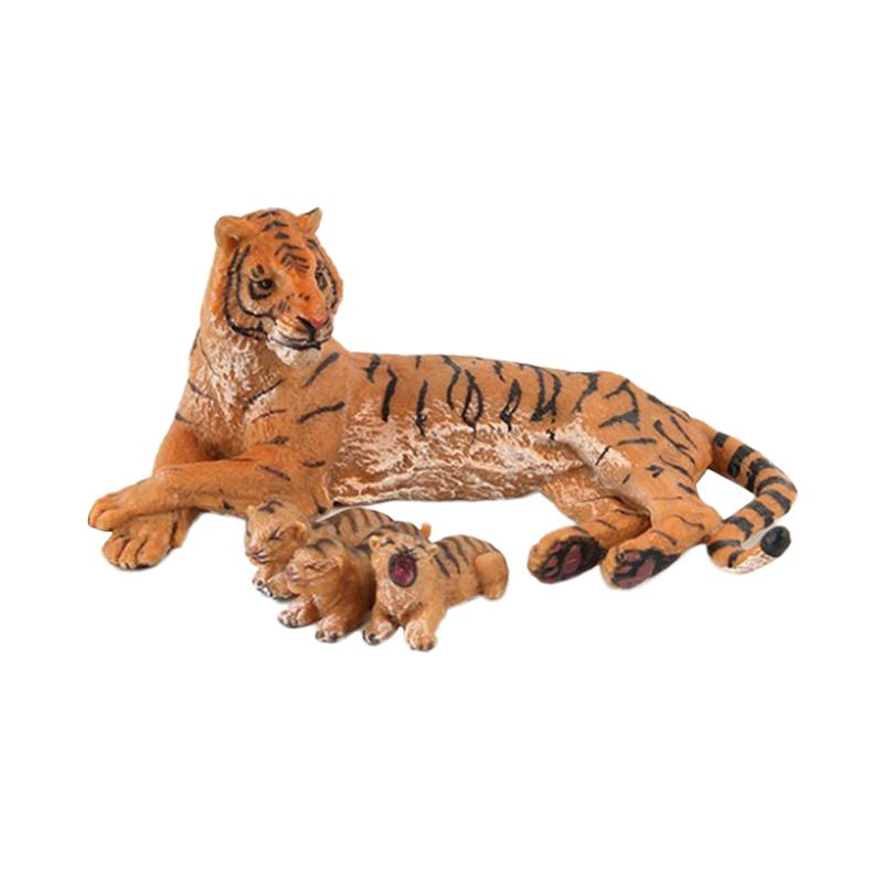 Tiger-Toys Simulation Animal-Figures Educational-Models Wild-Animal Realistic Cute