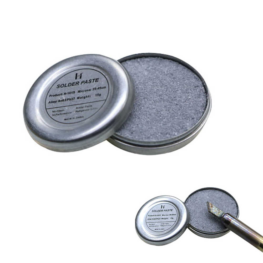 Lemonbest 전기 솔더 팁 재생 붙여 넣기 주석 솔더 팁 산화 수리 붙여 넣기 납땜 인두 머리 부활 크림
