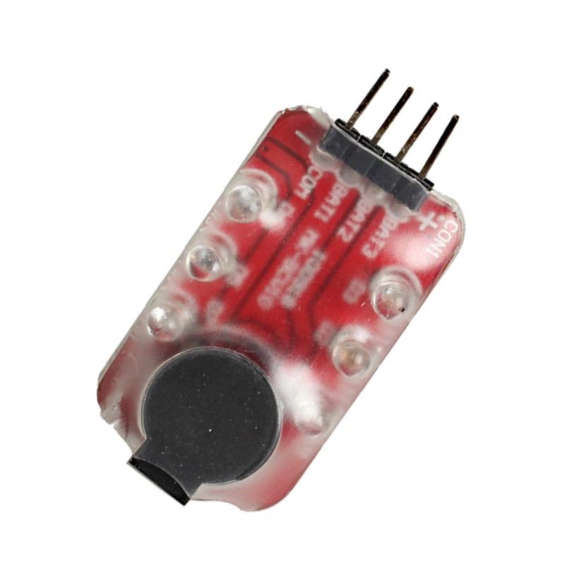 RC Lipo Battery Low Voltage Monitor Alarm Tester Buzzer  YJS Dropship