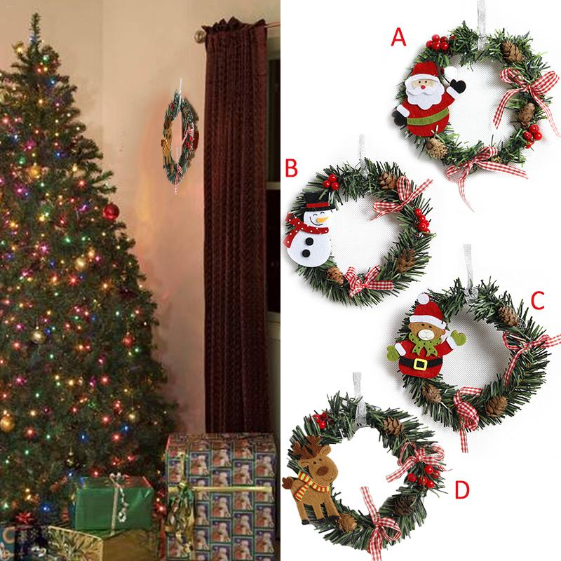 Christmas Wreath Tree Decor