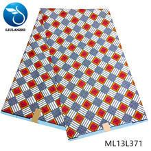 LIULANZH Ankara nigerian wax prints free shipping 6 yards polyester fabric african ML13L371
