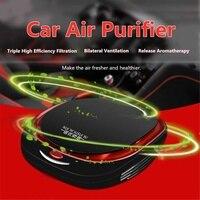 Car Auto Air Purifier Cleaner Car Air Purifier Freshener Portable Cleaner Auto Fresh Air Anion Ionic Purifier Oxygen Air Fresh