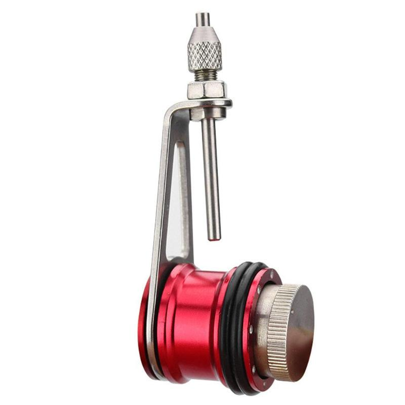 Fishing PR Knotter Aluminium Alloy Fishing Line Kontting Assist GT Line Knot Winder Machine Fishing Tackle Accessory