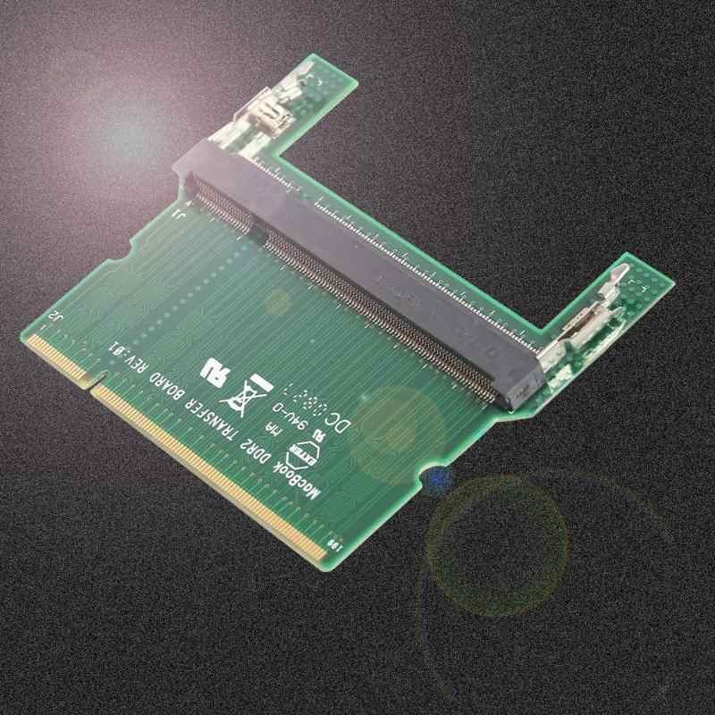 DDR2/DDR3แล็ปท็อปSO DIMMเดสก์ท็อปDIMMหน่วยความจำอะแดปเตอร์RAMการ์ดสองด้านชิปDualช่องแล็ปท็อป