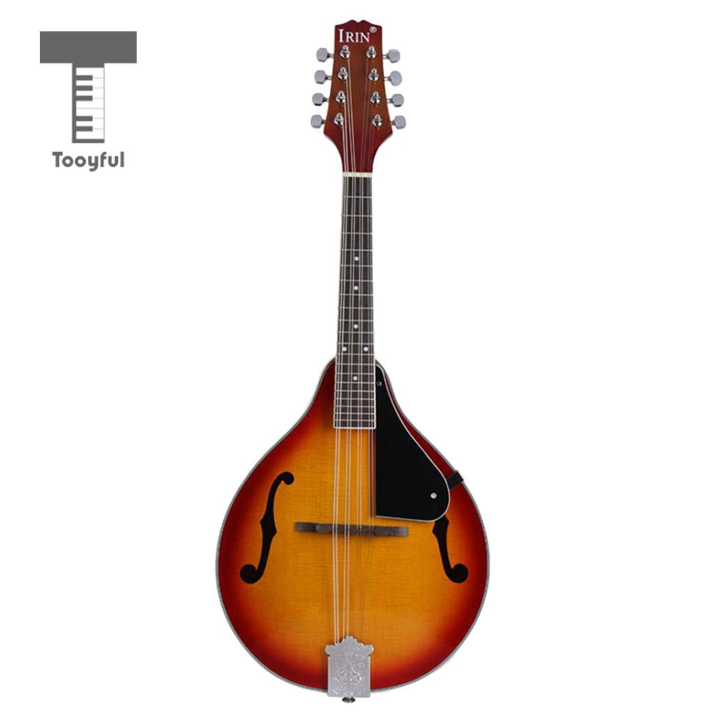 Tooyful IRIN A Style 8 String Acoustic Electric Mandolin Sunburst Spruce Instruments цена
