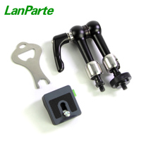 LanParte 6'' Friction Magic Arm monitor quick release articulating arm with 4KG Load Capacity