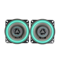 2Pcs 4Inch 2 Way Car Audio Tweeter Speakers 4Ohm 30W Coaxial Full Frequency Dual Car Audio High Speakers