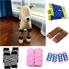 1 пара зимних креативных теплых носков для питомцев, собак, кошек, щенков, хлопковые теплые гетры, Зимние гольфы для питомцев, носки, поставка 4